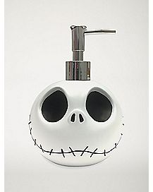 Jack Skellington Soap Pump - The Nightmare Before Christmas