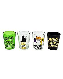 Hocus Pocus Mini Glass Set 1.5 oz - Hocus Pocus