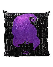 Mary Sanderson Pillow - Hocus Pocus