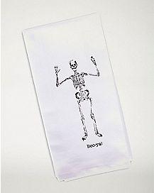Boo-Ya Skeleton Dish Towel