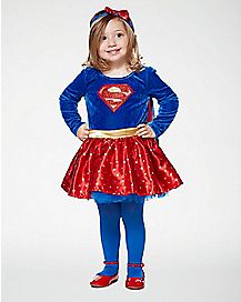 Baby Supergirl Dress Costume - DC Comics