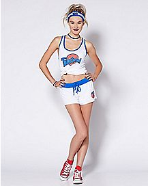 Adult Athletic Space Jam Costume