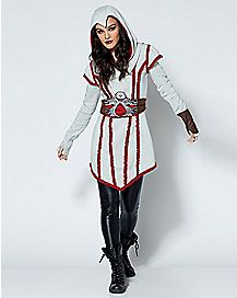 Adult Ezio Hooded Dress - Assassins Creed
