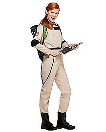 Adult Womens Ghostbusters One Piece Costume - Ghostbusters Classic