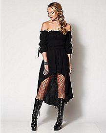 Adult Hi-Lo Peasant Dress