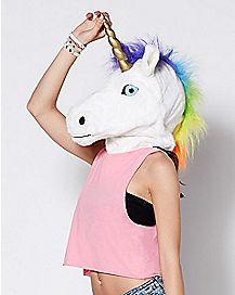 Moving Mouth Unicorn Mask