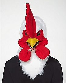 Rooster Moving Mouth Mask