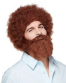 Bob Ross Wig and Beard