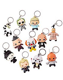 Horror Movie Key Ring Blind Pack