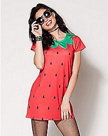 Strawberry Dress Costume