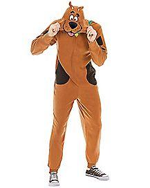 Adult Scooby Doo Pajama Costume
