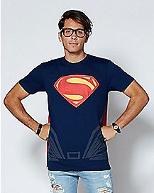 Superman Caped T Shirt - DC Comics