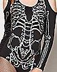 Holographic Skeleton Bodysuit