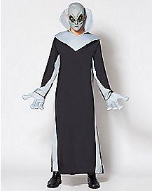 Adult Light-Up Alien Costume