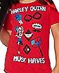 Kids Harley Quinn T Shirt - DC Comics
