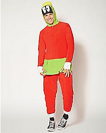Adult Marvin the Martian Union Suit - Looney Tunes