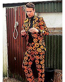 Adult Jack-O-Lantern Suit