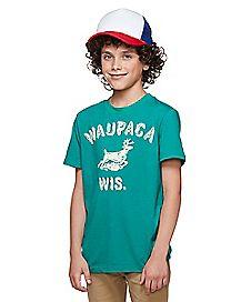 Kids Dustin Henderson T Shirt - Stranger Things