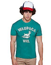 Adult Dustin Henderson T Shirt - Stranger Things