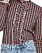 Adult Ruffle Barb Shirt - Stranger Things