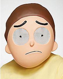Morty Half Mask - Rick and Morty