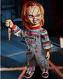 2 Ft Bump 'N Go Chucky Animatronics – Decorations
