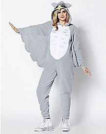 Adult Owl Pajama Costume