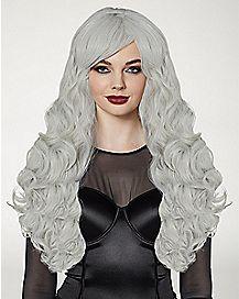 Gray Curls Wig