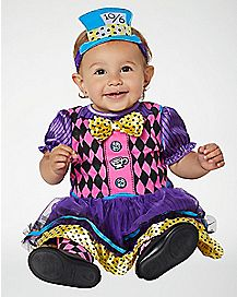 Baby Mad Hatter Costume - Alice In Wonderland
