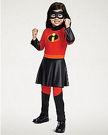 Toddler Violet Dress Costume Deluxe - The Incredibles 2