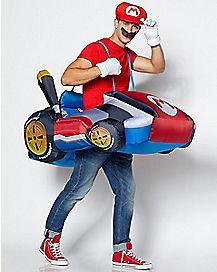 Adult Mario Kart Inflatable Costume - Mario Kart