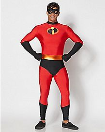 adult mr incredible skin suit costume the incredibles 2