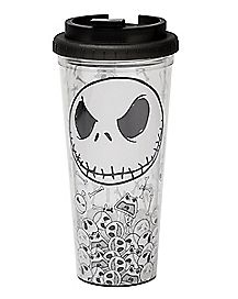 Jack Skellington Travel Mug 24 Oz. - The Nightmare Before Christmas