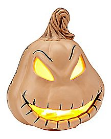 Oogie Boogie Light Up Pumpkin - The Nightmare Before Christmas