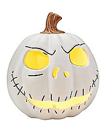 Large Jack Skellington Light Up Pumpkin - The Nightmare Before Christmas