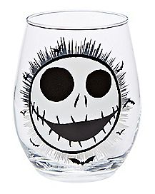 Jack Skellington Stemless Glass - The Nightmare Before Christmas