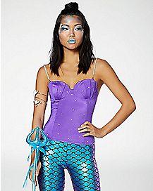 Pearl Mermaid Corset