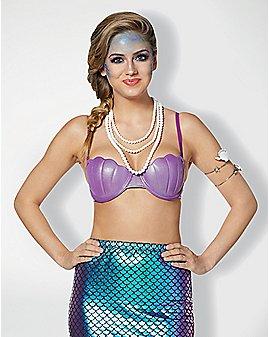 Purple Mermaid Bra