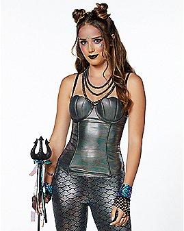 Dark Mermaid Corset