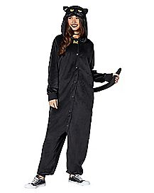Adult Binx Pajama Costume - Hocus Pocus