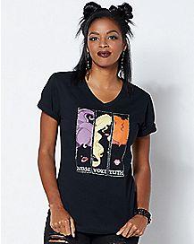 Sanderson Sisters Silhouette T Shirt - Hocus Pocus