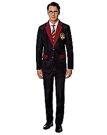 Adult Gryffindor Party Suit - Harry Potter