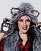 Faux Fur Wolf Vest