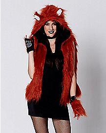 Faux Fur Fox Vest