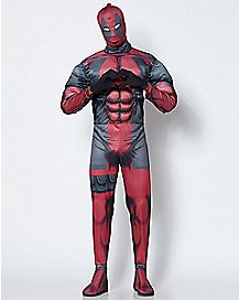 Adult Deadpool Costume Deluxe - Marvel