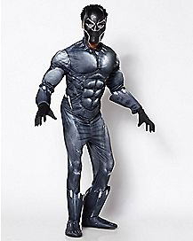 Adult Black Panther Costume Deluxe - Marvel