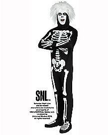 Adult Beat Boy Skeleton Costume - SNL