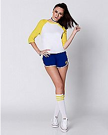 Adult Archie Cheerleader Practice Suit Costume - Archie Comics