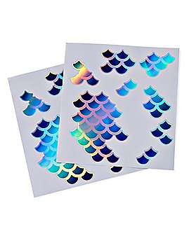 Mermaid Scale Body Decals