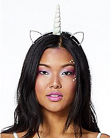 Unicorn Rhinestone Headband